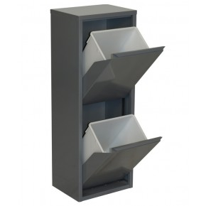 Simon Rack Armoire 2 seaux color gris gris