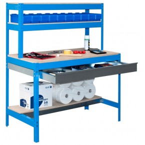 Simon Rack BT-1 BOX 1500 bleu - bois