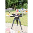 La Hacienda barbecue dual grill 600