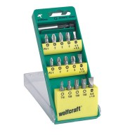 Wolfcraft - Assortiment d'embouts - 2400000
